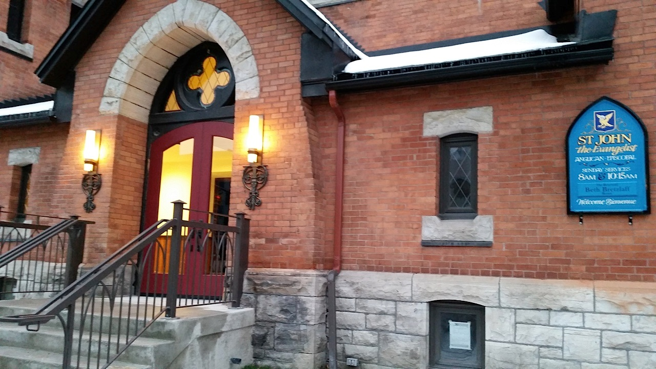 St. John the Evangelist, Ottawa - exterior