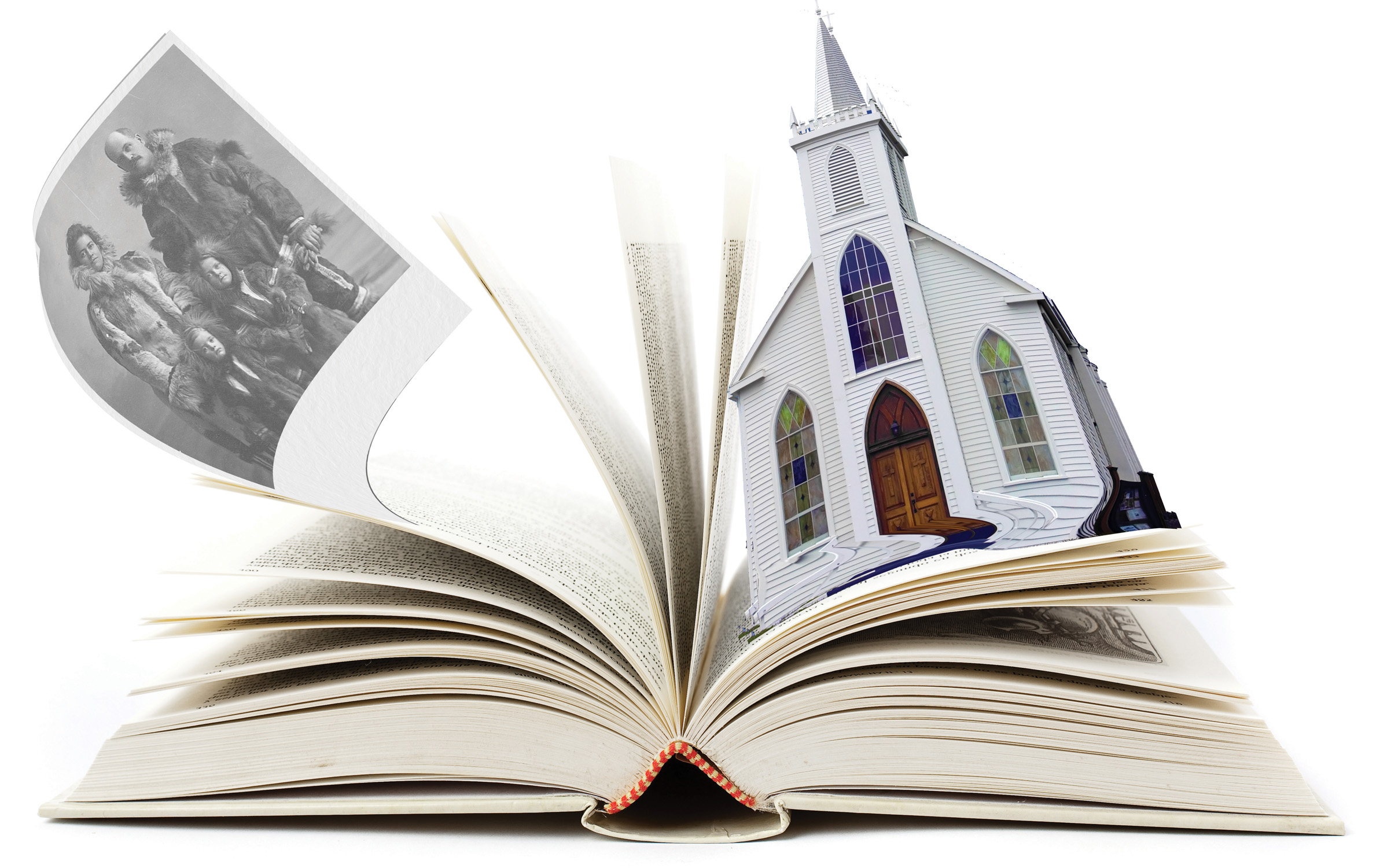 book with church_no layers