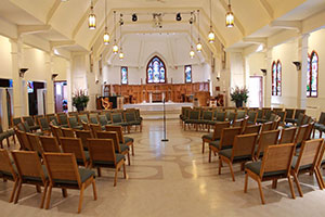 Photo of St. Stephens' sanctuary